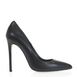 High heel black pump