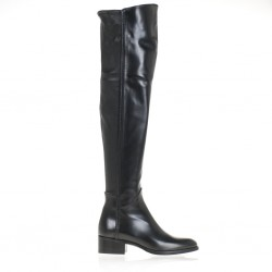 Nappa leather cuissard