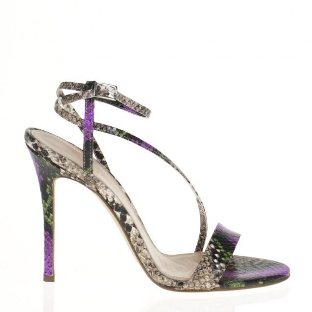 Pyton high heel sandal