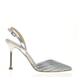 Chanel argento in vinile