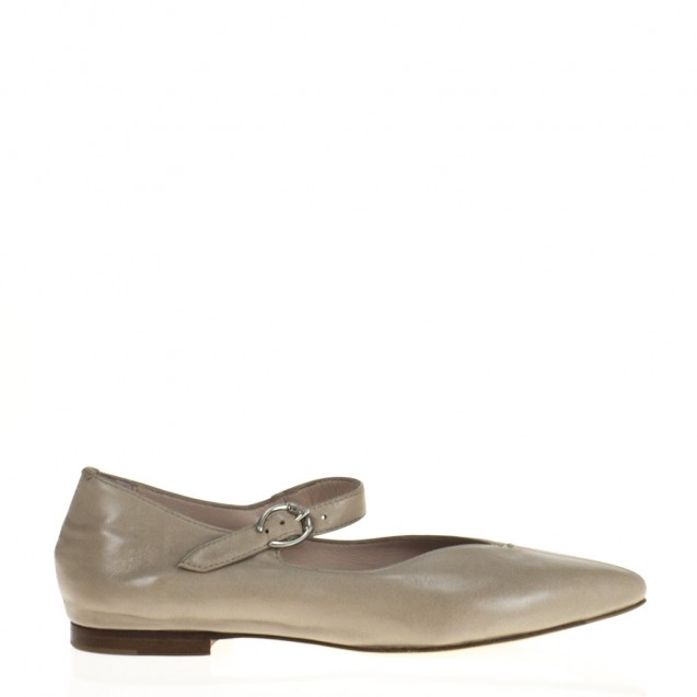Ivory napa mary jane shoes