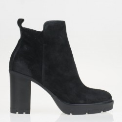 Black Sunny ankle boots