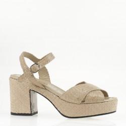 Ivory Tivoli sandal