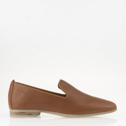 Tan napa loafer