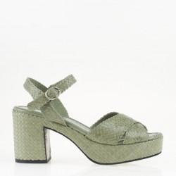 Sandalo Tivoli verde